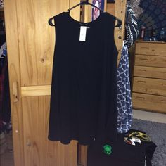 NWT Brandy Melville Alena dress New with tags. One size. Black. Not online anymore. Brandy Melville Dresses Mini