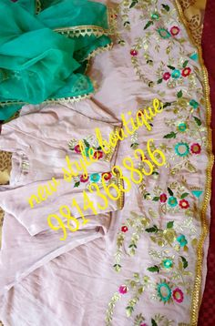 Punjabi Suits Party Wear, Party Wear Indian Dresses, Designer Party Wear Dresses, Kurti Designs Party Wear, Designer Punjabi Suits Patiala, Punjabi Suits Designer Boutique, Boutique Suits, Embroidery Suits Punjabi, Hand Embroidery Dress