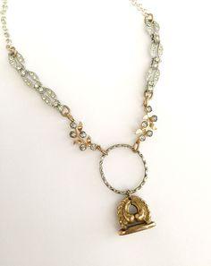 Antique Fob Necklace #2 – Cupids Charm