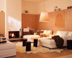 Wohnzimmer Im Modernen Country Stil