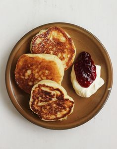 """Racuszki {Polish Yeasted Pancakes} .. Great post on eastern european food! Its one me of my favorites, and I""""m so happy to see some great recipes!"""