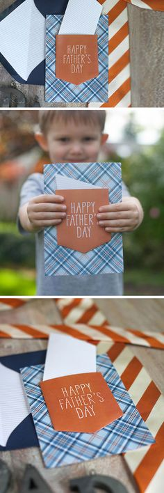Shirt Pocket Card | Click Pic for 21 Easy Homemade Fathers Day Cards to Make | DIY Birthday Cards for Dad from Daughter