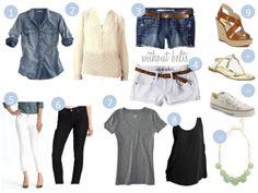 PACKING LIGHT: SUMMER BASICS...could it BE this simple?