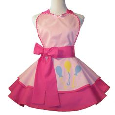 Retro Apron Pinkie Pie Cosplay Apron by WellLaDiDa on Etsy, $52.00