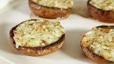 Receita de Cogumelos recheados. Descubra como cozinhar Cogumelos recheados de maneira prática e deliciosa!