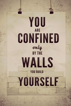 Building walls #quote