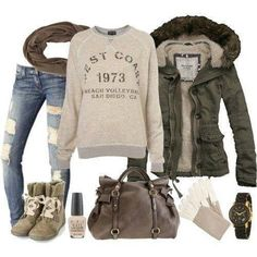 Winter style. Just love <3