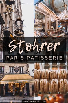 Stohrer: Visiting the Oldest Patisserie in Paris, France. If you're looking for the best pastries and sweets in the French capital, then you've come to the right place! Patisserie Paris, Paris Bakery, Paris Travel, France Travel, Paris Food, Triomphe, Champs Elysees, Famous Places, Foodie Travel