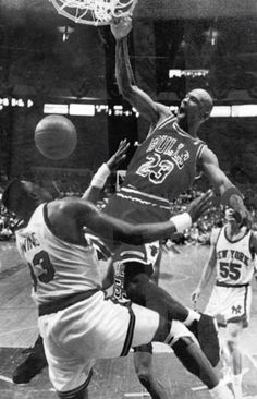 MJ over Ewing
