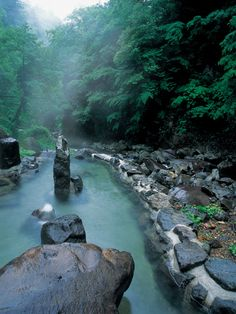 Oodaira Hot Spring, Yamagata, Japan #travelcompanion