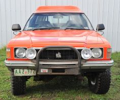 1978 Holden Overlander 4x4 front
