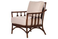 St. Barts Lounge Chair, Tobacco