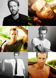 Ryan Reynolds. Hot. Sexy. Funny. Smart. Endearing. Gentleman. #dreamguy