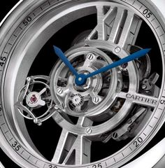Rotonde Astrotourbillon Skeleton de CARTIER