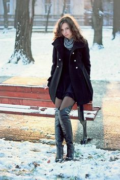 knee-high-boots:winter-outfits