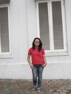 Gotchaaa, take it on Kota Lama, Semarang