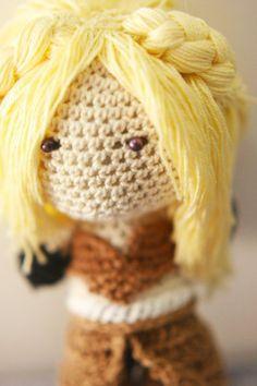 Game of Thrones - Daenerys Targaryen Crochet Doll