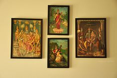 A beautiful, serene home punctuated with punches of color- florid Devi prints and other Indiana. Gypsy Home Decor, Indian Home Decor, Ethnic Decor, Asian Decor, Indian Inspired Decor, Indian Interior Design, Earthy Home, India Decor, Indian Interiors