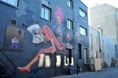 Back alley mural project. Kamloops, BC