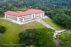 Administration Building of the Panama Canal. (Worked here for a short time)