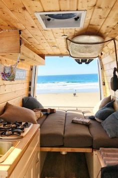 23 Amazing Van Life Interior Ideas For Inspiration! – Deluxe Timber 23 Amazing Van Life Interior Ideas For Inspiration! – Deluxe Timber,Mobile Home/Camping Check out these 23 amazin van interiors for ideas on your. Van Conversion Campervan, Camper Van Conversion Diy, Van Conversion Walls, Van Conversion Interior, Vw Caravan, Caravan Decor, Kombi Home, Van Home, Van Interior
