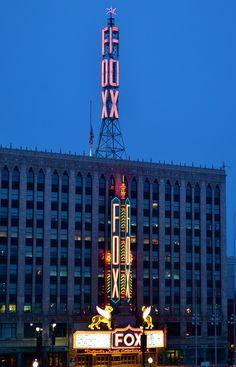 The Fox Theatre - Detroit