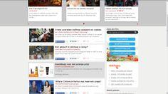 Klant: Actiepagina.nl, beste deal acties, Veronicamagazine.nl, Content widget.