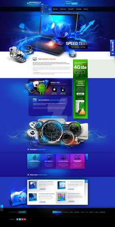 Speed test - websitet design by webdesigner1921 on DeviantArt