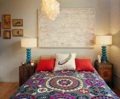 Eclectic Bedroom by Ondine Karady Design