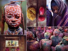Natural dyes and colors