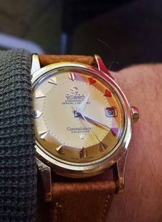 "omegaforums: ""Vintage OMEGA Constellation Piepan Chronometer In 18K Solid Gold - http://omegaforums.net """