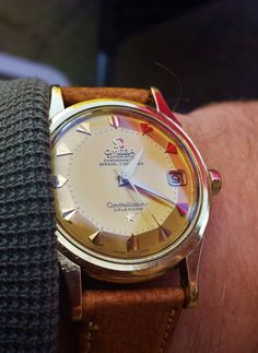 "omegaforums: ""Vintage OMEGA Constellation Piepan Chronometer In 18K Solid Gold - http://omegaforums.net """