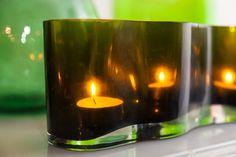 Muurlan vihreä lasiesine MindyJBlog Candle Jars, Candle Holders, Candles, Design, Porta Velas, Candy, Candle Sticks, Candlesticks