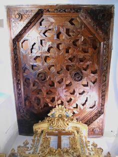 Artesonado de altar lateral