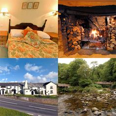 The Blue Ball Inn - exmoor. Start of country walks