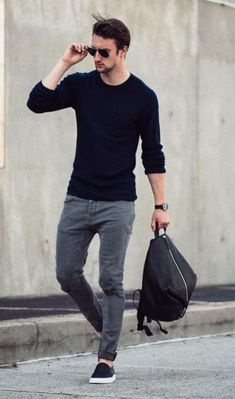 Best Ideas For Sneakers Outfit Men Casual Fashion Styles Streetwear, Mode Man, Style Masculin, Herren Outfit, Cooler Look, Fashion Mode, Fall Fashion, Fashion Black, Style Fashion