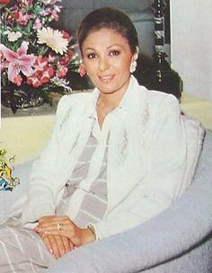 Empress Farah Pahlavi, the last Queen of Iran.