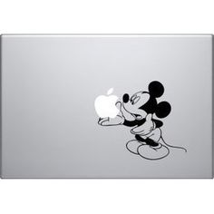 Disney Mickey Mouse Holding Vinyl Decal Skin (509059) for Apple Macbook Pro Air Laptop Computer