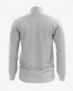 Men's Training Jacket Mockup / Back View. Present your design on this mockup. Simple to change the color of different parts and add your design. Includes special layers and smart objects for your creative works. Sport Sport, Sport Pants, Netball Dresses, Motorcycle Icon, How To Make Logo, Shirt Mockup, Mockup Templates, Athletic Outfits, Clothing Items