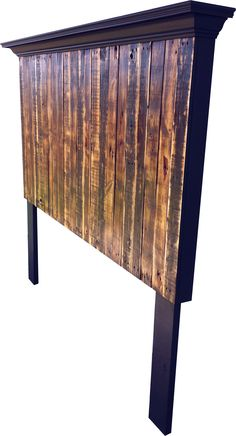 Vintage Headboards | Tall King size pallet headboard | Online Store Powered by Storenvy