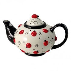 Lots of Ladybugs Teapot - 46oz