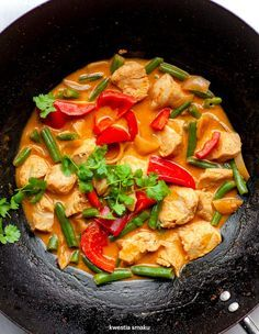 Salty Foods, Ratatouille, Thai Red Curry, Poultry, Clean Eating, Lunch, Healthy, Ethnic Recipes, Dinners