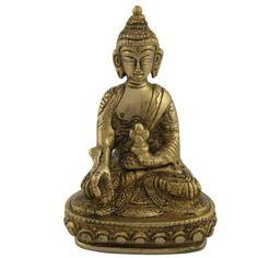 Amazon.com: Meditation Statue Lord Buddha Brass Sculpture: Furniture & Decor