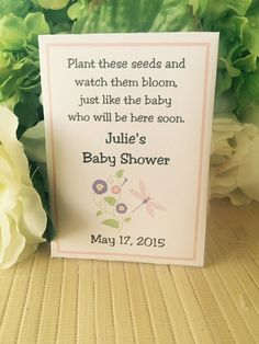 Girl Baby Favors Boy Baby Favors Baby Shower by FavorUniverse
