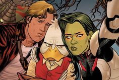 New Howard The Duck Cover Features The Guardians Of The Galaxy
