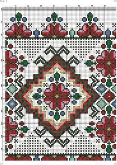 Photo Biscornu Cross Stitch, Cross Stitch Rose, Cross Stitch Charts, Cross Stitch Patterns, Towel Embroidery, Basic Embroidery Stitches, Cross Stitch Embroidery, Embroidery Patterns, Bargello