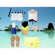 Untitled #36 by dascalubella on Polyvore featuring polyvore fashion style Marni rag & bone Aéropostale See by Chloé Bling Jewelry Essie