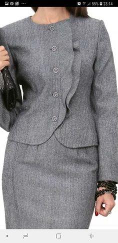Suit Fashion, Denim Fashion, Fashion Dresses, Womens Fashion, Petite Fashion, Curvy Fashion, Fall Fashion, Style Fashion, Chic Outfits