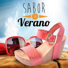 Si quieres probar el sabor dulce del #verano hazlo con esta cuñas color rosa chicle que te enseñamos hoy :)