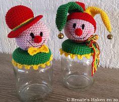 Renate's Haken en zo: Patroon potje Clown